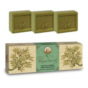 Regular Soap Venus Secrets Triple-Milled Soap Olive & Jasmine (3x100gr)
