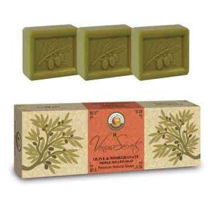 Σαπούνι Venus Secrets Triple-Milled Σαπούνι Ελιάς & Ροδιού (3x100gr)