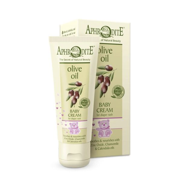 Babies & Kids Care Aphrodite Olive Oil Soothing Baby Cream