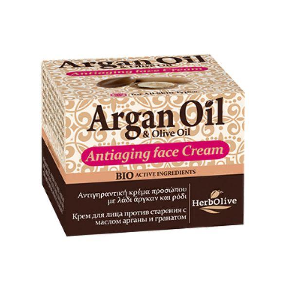 Face Care HerbOlive Argan Face Antiaging Cream