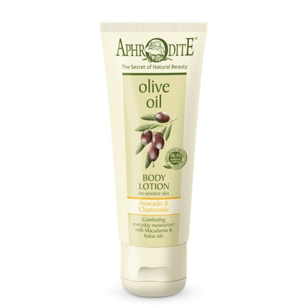 Body Care Aphrodite Olive Oil Body Lotion Avocado & Chamomile