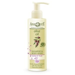Babies & Kids Care Aphrodite Olive Oil Baby Shampoo & Body Wash