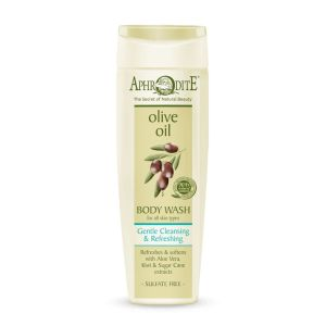Body Care Aphrodite Olive Oil Gentle Cleansing & Refreshing Body Wash