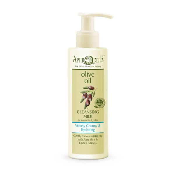 Cleansing Milk Aphrodite Olive Oil Velvety Creamy & Hydrating Cleansing Milk