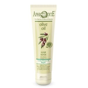 Hair Care Aphrodite Olive Oil Color Protect & Repair Hair Mask for Coloured or Damaged Hair