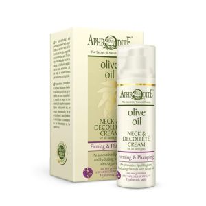 Anti-Wrinkle Cream Aphrodite Olive Oil Neck & Decollete Cream
