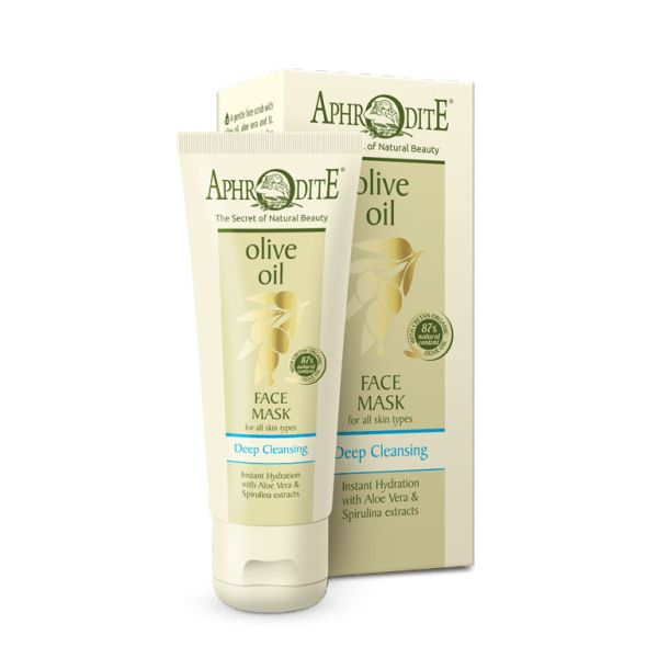 Face Care Aphrodite Olive Oil Deep Cleansing Face Mask