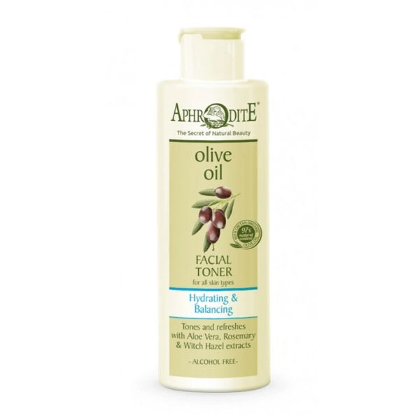 Face Care Aphrodite Olive Oil Hydrating & Balancing Facial Toner