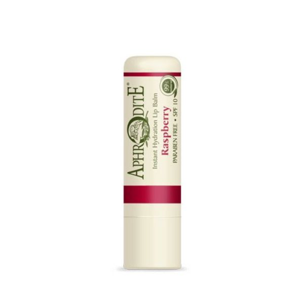 Face Care Aphrodite Olive Oil Rasberry Lip Balm