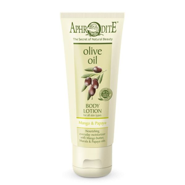 Body Care Aphrodite Olive Oil Body Lotion Mango & Papaya