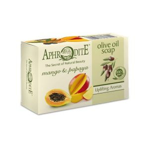 Regular Soap Aphrodite Olive Oil Soap with Mango & Papaya