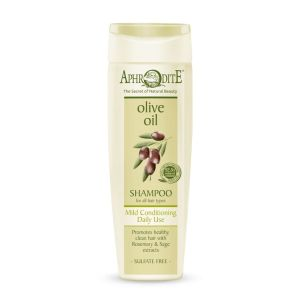 Hair Care Aphrodite Olive Oil Mild Conditioning Daily Use Shampoo for All hair Types