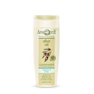 Μαλακτική Κρέμα Aphrodite Olive Oil Μαλακτική Κρέμα  Ενυδάτωσης & Λάμψης Κανονικά ή Ξηρά Μαλλιά