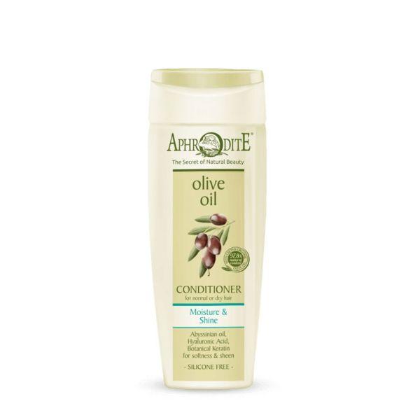 Mαλακτική Κρέμα Aphrodite Olive Oil Μαλακτική Κρέμα  Ενυδάτωσης & Λάμψης Κανονικά ή Ξηρά Μαλλιά