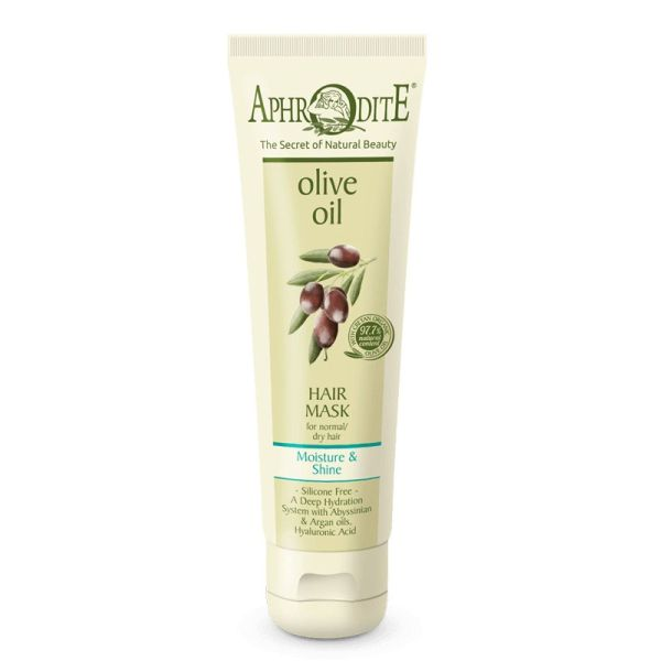 Hair Care Aphrodite Olive Oil Moisture & Shine Hair Mask for Normal to Dry Hair