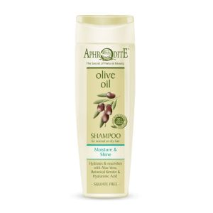 Hair Care Aphrodite Olive Oil Moisture & Shine Shampoo for Normal to Dry Hair