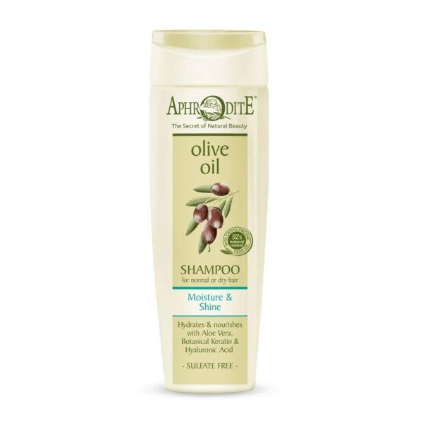 Περιποίηση Μαλλιών Aphrodite Olive Oil Σαμπουάν Ενυδάτωσης & Λάμψης Κανονικά ή ξηρά Μαλλιά