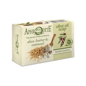 Regular Soap Aphrodite Olive Oil Soap with Shea Butter & Oatmeal