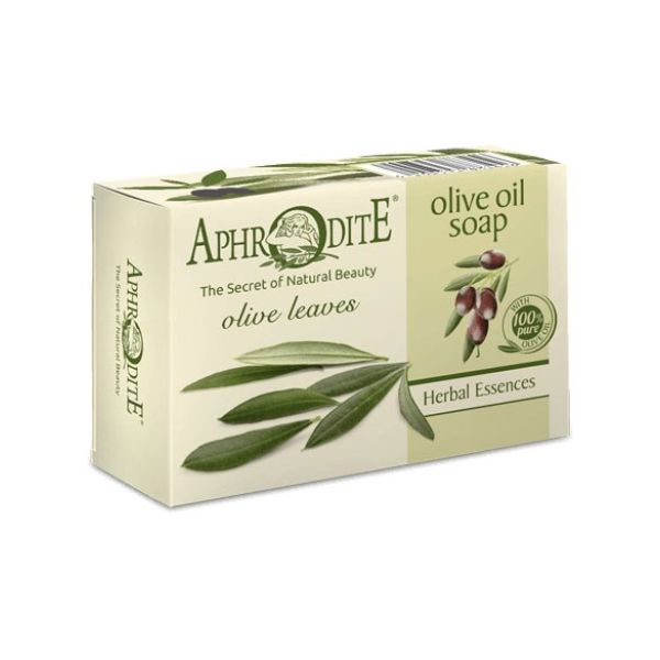 Regular Soap Aphrodite Olive Oil Soap with Olive Leaves