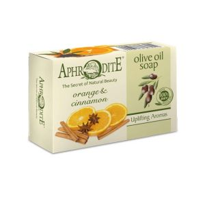 Regular Soap Aphrodite Olive Oil Soap with Orange & Cinnamon