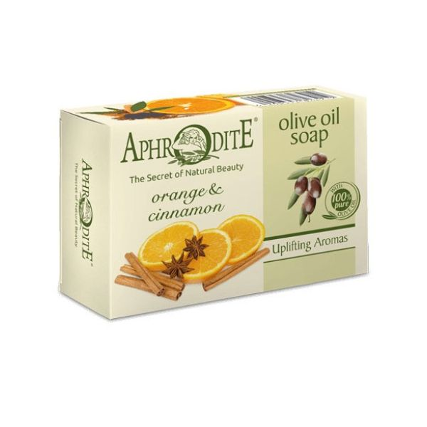 Regular Soap Aphrodite Olive Oil Soap with Orange & Cinnamon
