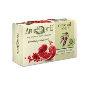 Regular Soap Aphrodite Olive Oil Soap with Pomegranate