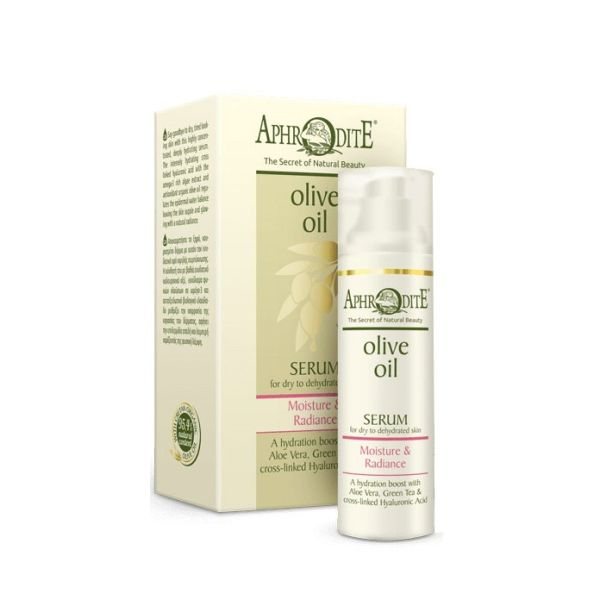 Face Care Aphrodite Olive Oil Moisture & Radiance Serum