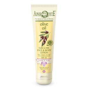 Sun Care Aphrodite Sun Care Face & Body Lotion for Babies & Kids SPF 50