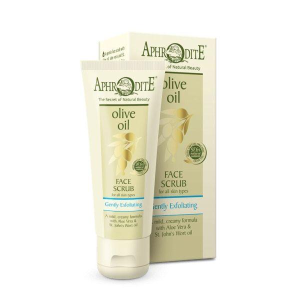 Exfoliators & Peels Aphrodite Olive Oil Gently Exfoliating Face Scrub