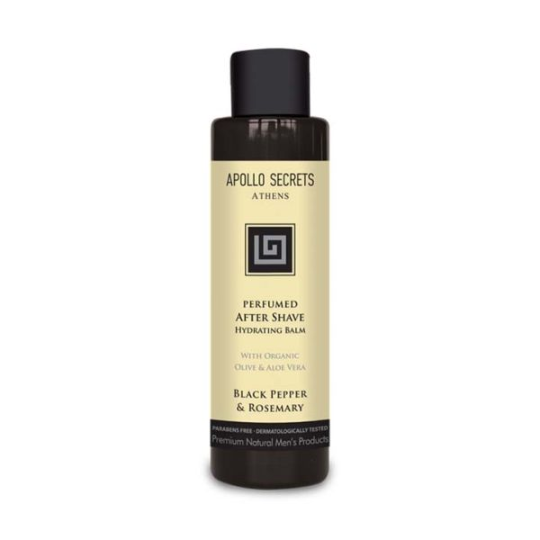 Men's Perfumed After Svave Apollo Secrets Perfumed After Shave Black Pepper & Rosemary