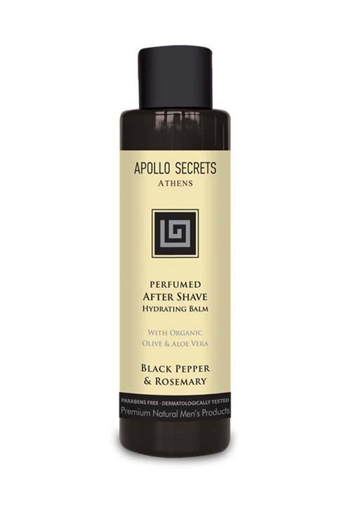 Ανδρική Περιποίηση Apollo Secrets Αρωματικό After Shave Black Pepper & Rosemary