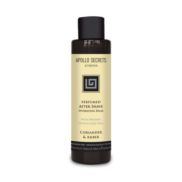 Men's Perfumed After Svave Apollo Secrets Perfumed After Shave Coriander & Amber