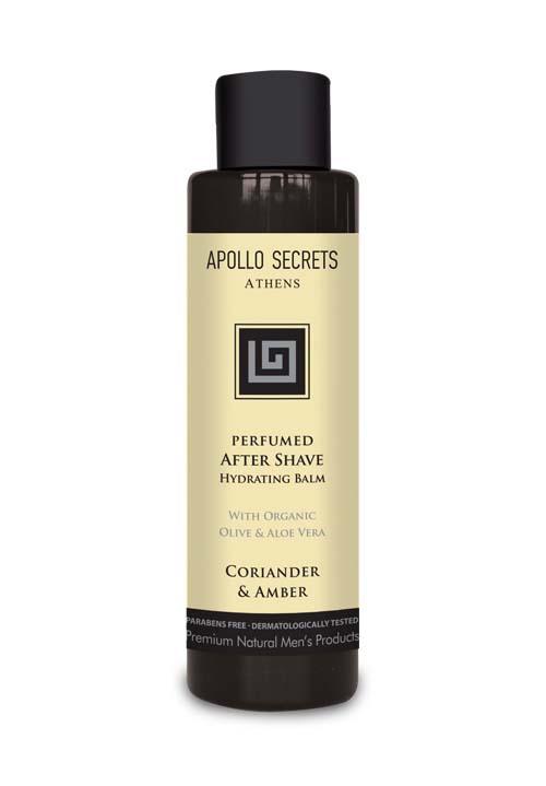 Ανδρική Περιποίηση Apollo Secrets Αρωματικό After Shave Coriander & Amber