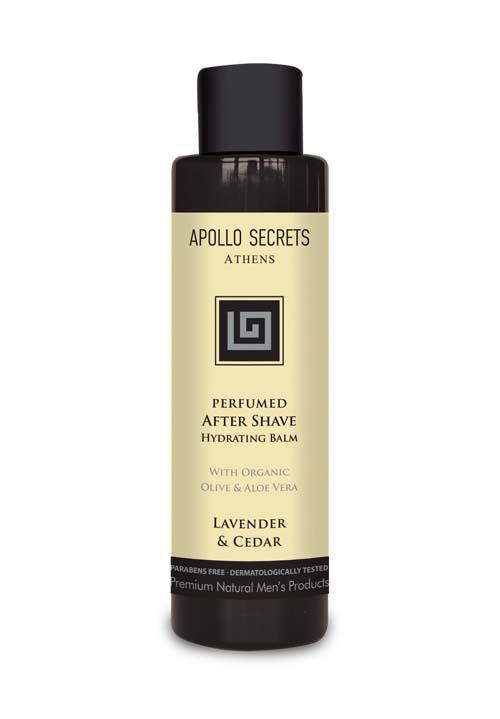 Ανδρικό Αρωματικό After Shave Apollo Secrets Αρωματικό After Shave Lavender & Cedar