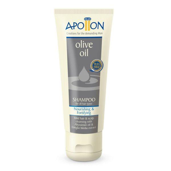 Men Care Apollon Olive Oil Shampoo All Hair Types