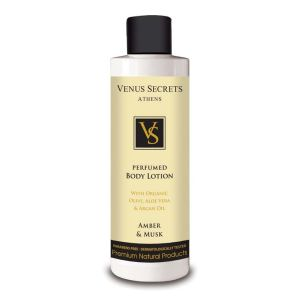Perfume Venus Secrets Perfumed Body Lotion Amber & Musk