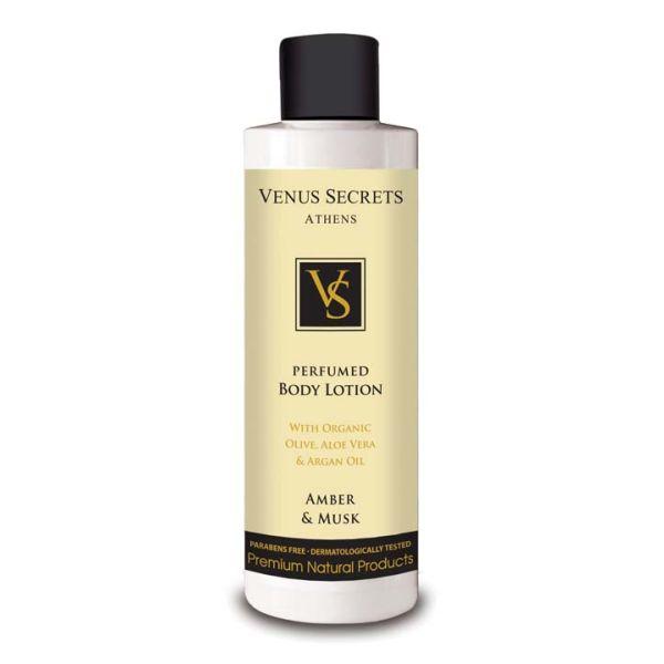 Body Care Venus Secrets Perfumed Body Lotion Amber & Musk