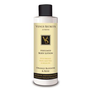Perfume Venus Secrets Perfumed Body Lotion Orange Blossom & Rose