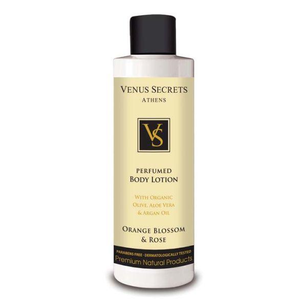 Body Care Venus Secrets Perfumed Body Lotion Orange Blossom & Rose