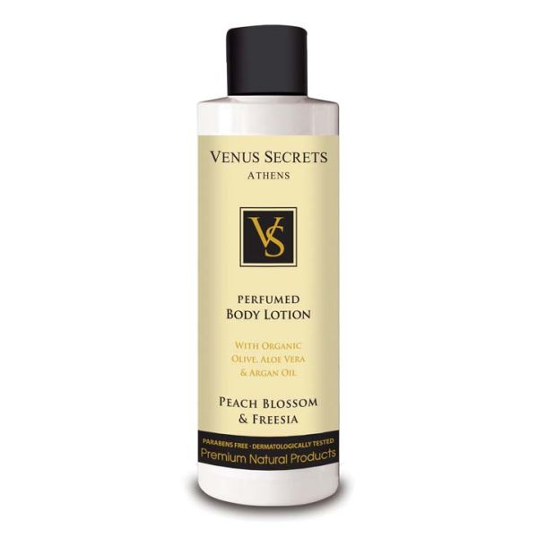 Body Care Venus Secrets Perfumed Body Lotion Peach Blossom & Freesia