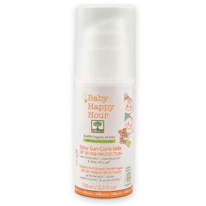 Αντηλιακή Προστασία Bioselect Παιδικό Αντηλιακό Γαλάκτωμα  SPF 30 Υψηλή  Προστασία