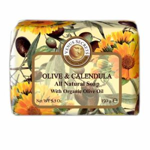 Regular Soap Venus Secrets Triple-Milled Soap Olive & Calendula (Wrapped)
