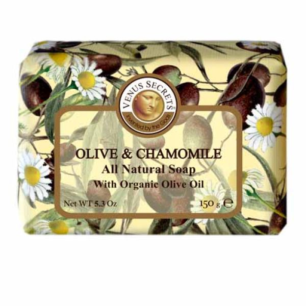 Regular Soap Venus Secrets Triple-Milled Soap Olive & Chamomile (Wrapped)
