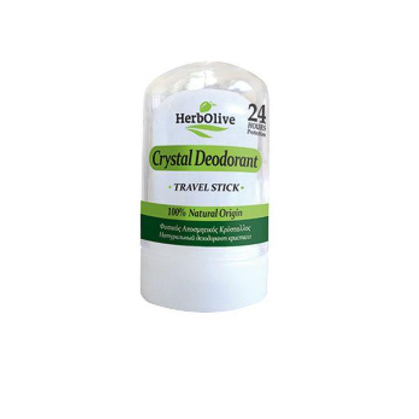 Body Care HerbOlive Body Deodorant Crystal Travel Stick