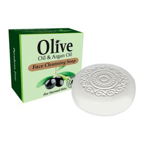 Facial Soap HerbOlive Face Cleansing Soap with Olive Oil & Argan Oil