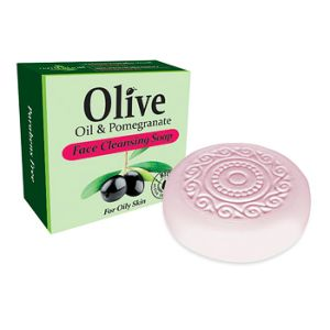 Facial Soap Herbolive Face Cleansing Soap with Olive Oil & Pomegranate
