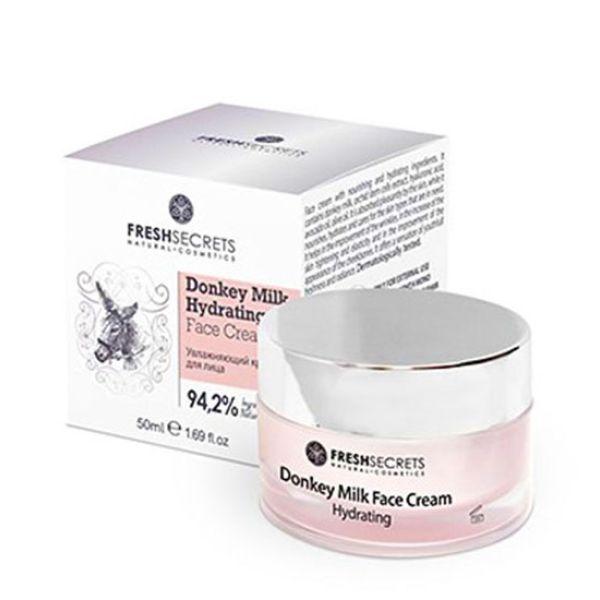 Face Care FreshSecrets Donkey Milk Hydrating Face Cream