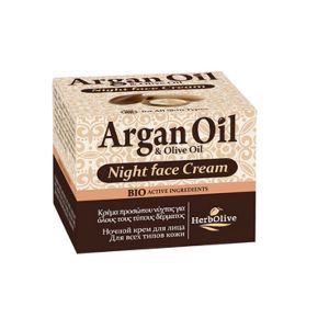 Face Care HerbOlive Argan Night Face Cream