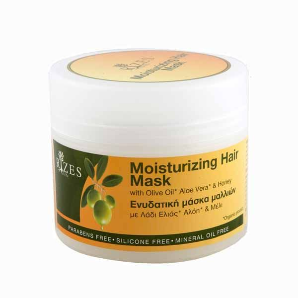 Hair Care Rizes Crete Moisturizing Hair Mask with Olive Oil & Aloe vera