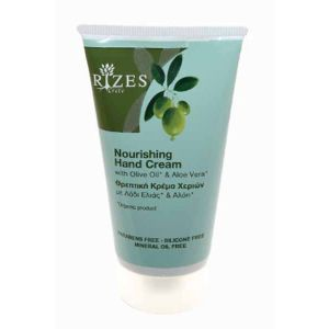 Hand Cream Rizes Crete Nourishing Hand Cream with Olive Oil* & Aloe Vera*